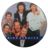 Dire Straits - 'Group Smiling' Button Badge
